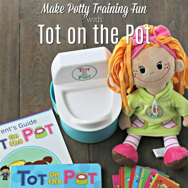 Make Potty Training Fun with Tot on the Pot