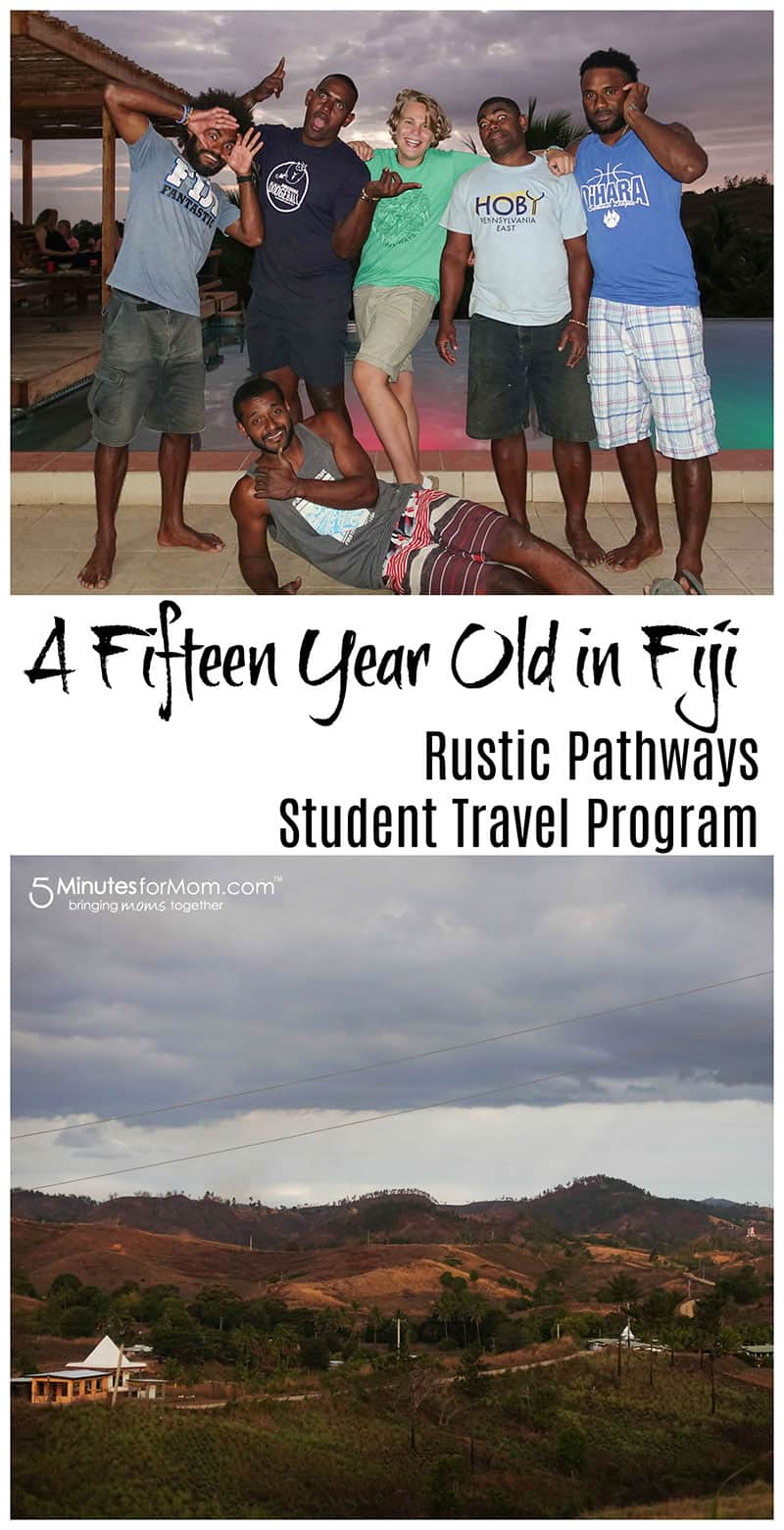 Fiji Rustic Pathways Student Travel