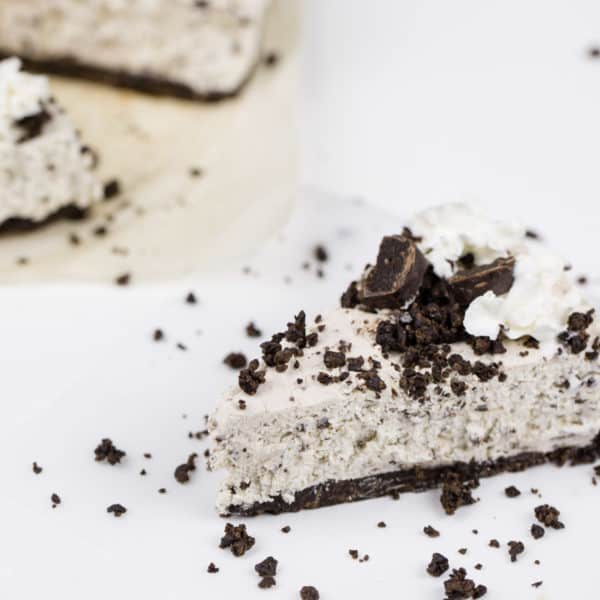 Whippet Sticks Cookies 'n Cream No-Bake Cheesecake Recipe