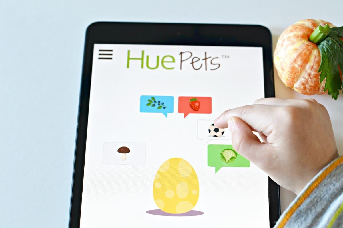 hue pets app for kids