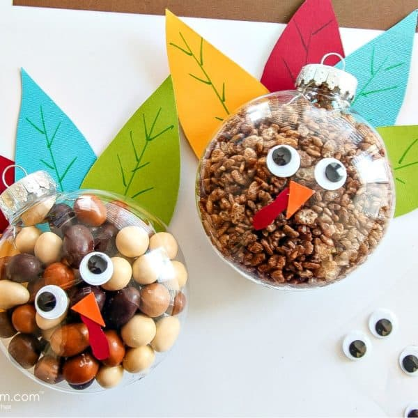 kids will love these turkey treats for Thanksgiving