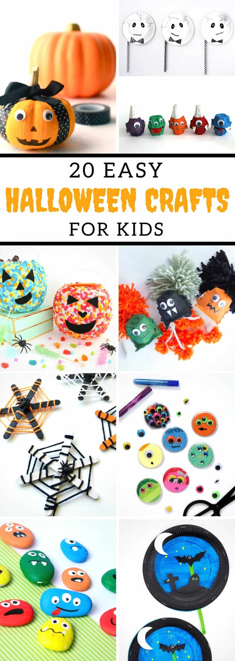 Easy Halloween Crafts For Kids - 5 Minutes for Mom