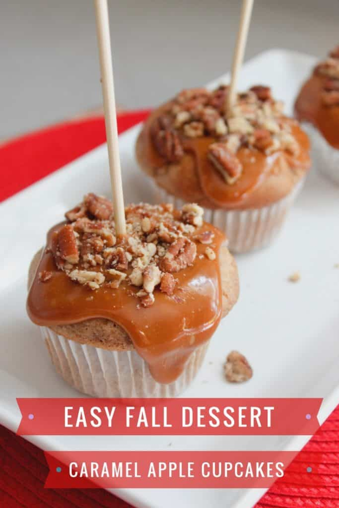 Caramel Apple Cupcakes from Pretty Extraordinary