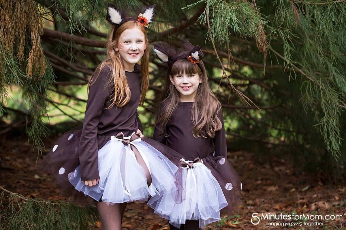 DIY Deer Costume - How to Make a Fawn Costume
