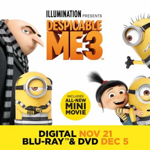 Despicable Me 3 Special Edition: Pre-order Now #DespicableMe3 #DMFamily