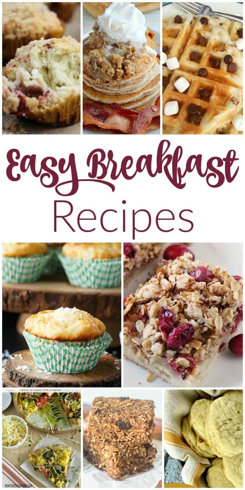 Delicious Easy Breakfast Recipes