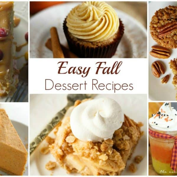 Easy Fall Dessert Recipes