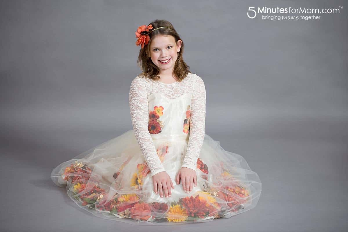 Fall Fairy Costume DIY Tutorial Part 1 – How to Create a Fall Flower Dress