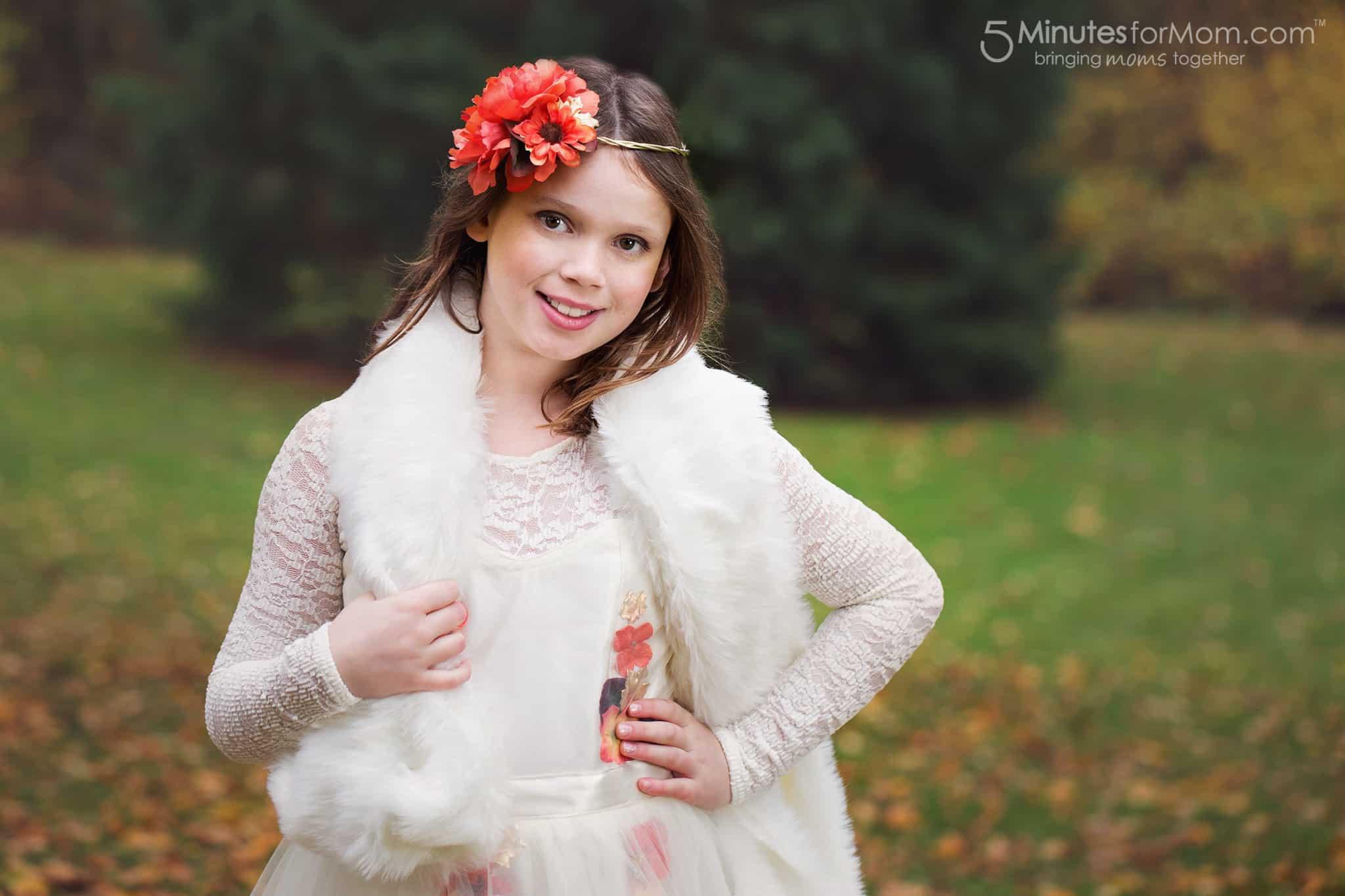 Fall Flower Fairy Costume