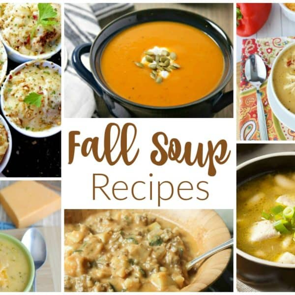 Fall Soup Recipes and our Delicious Dishes Recipe Party