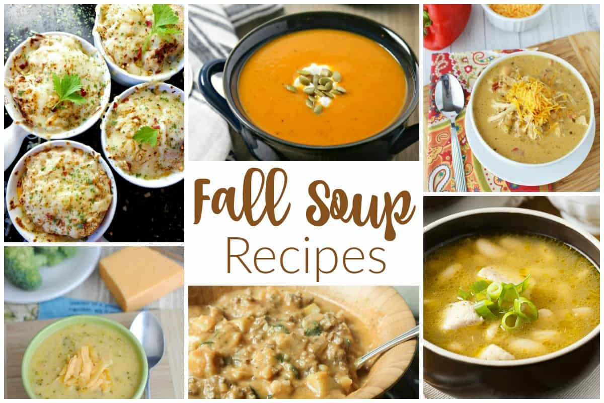 Fall Soup Recipes - Delicious Dishes