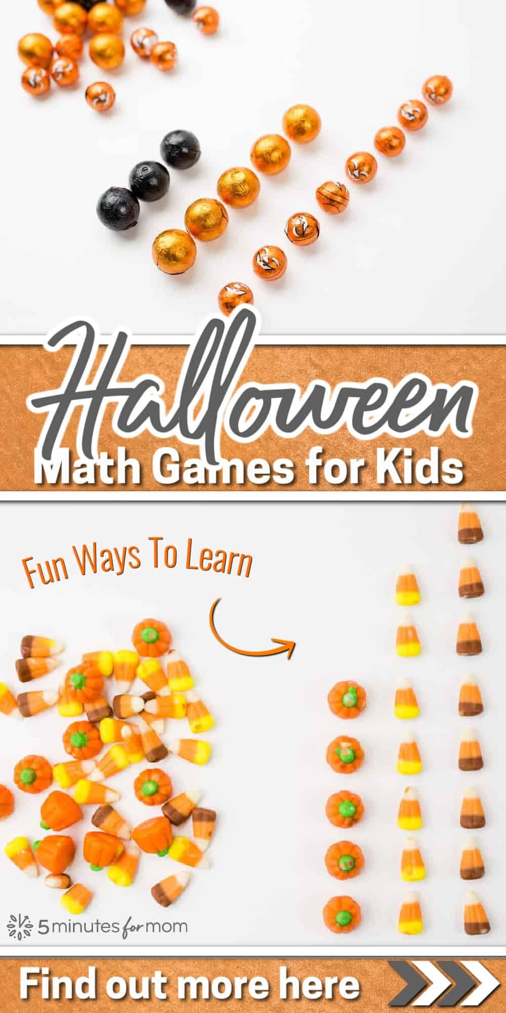 Fun Halloween Math Games for Kids