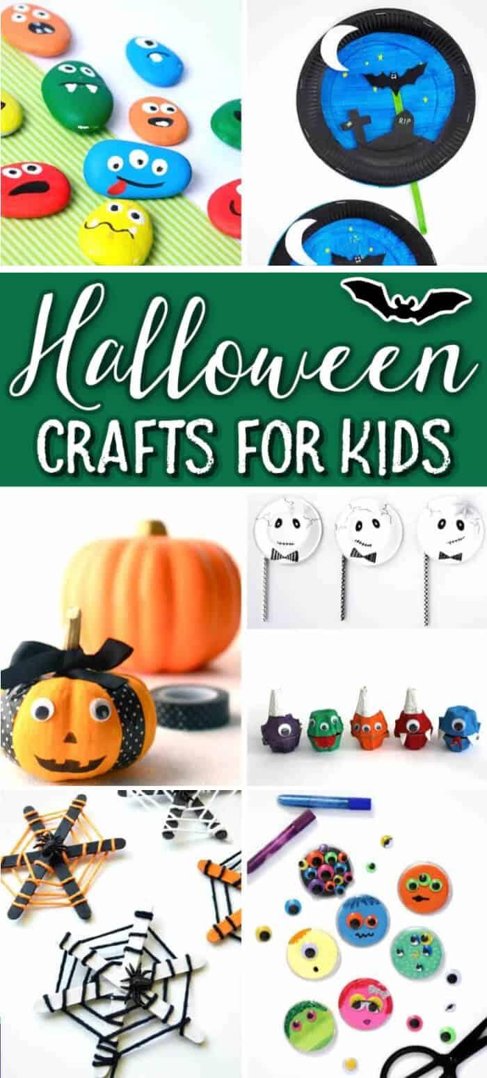 Halloween Crafts for Kids - Easy Kids Activities