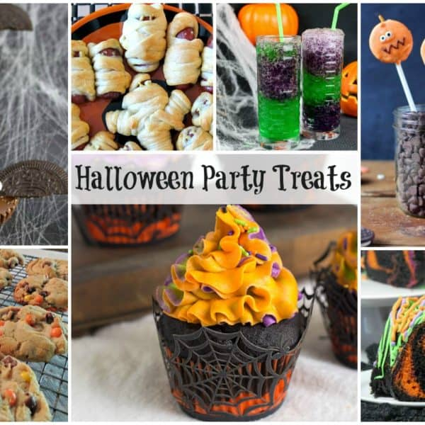 Halloween Party Treats and our Delicious Dishes Recipe Party