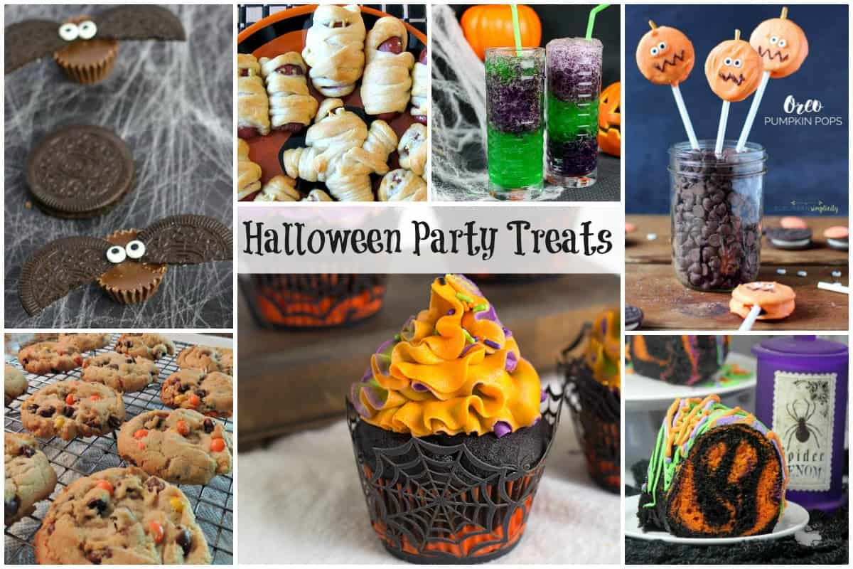 Halloween Party Treats - Spooky Halloween Treats