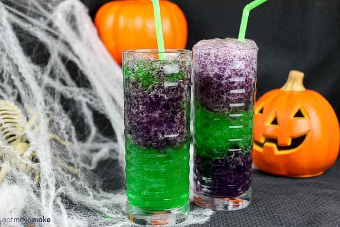 Halloween Slimy Slurpie