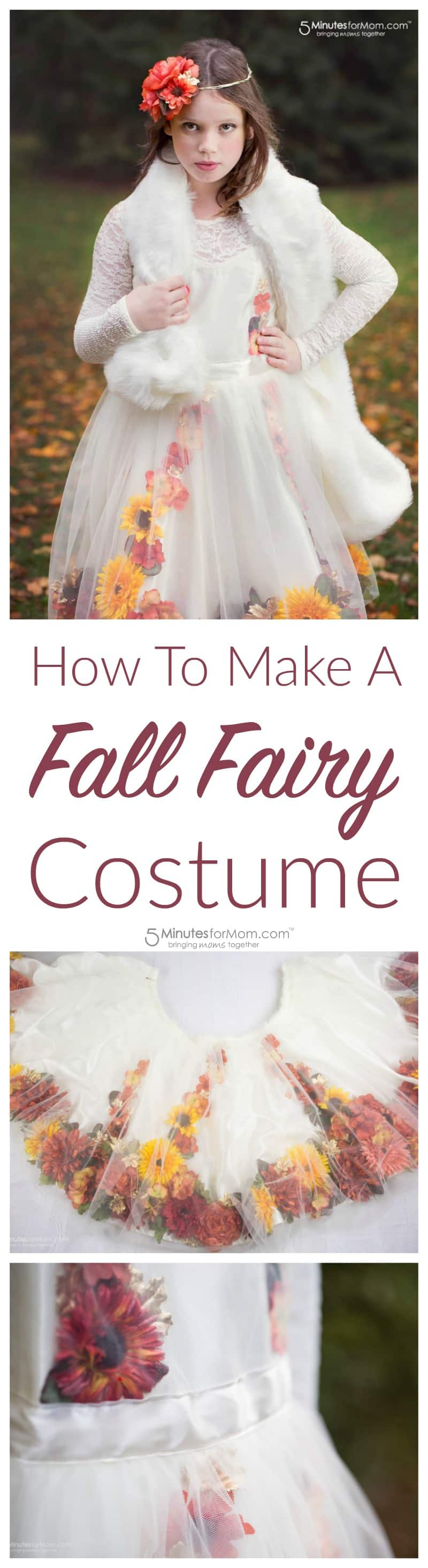 How To Make A Fall Fairy Costume