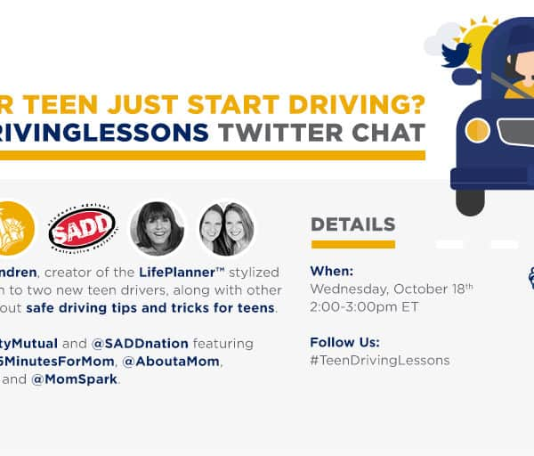 Do You Have Teenagers? Help Them Stay Safe On The Road. #TeenDrivingLessons