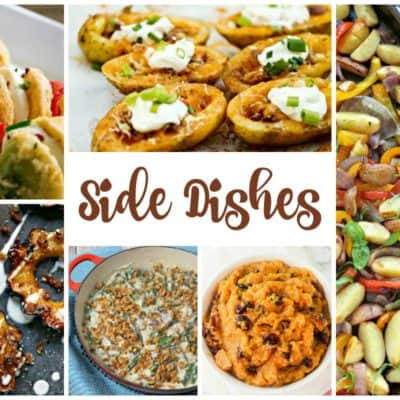 Tasty Side Dishes and our Delicious Dishes Recipe Party
