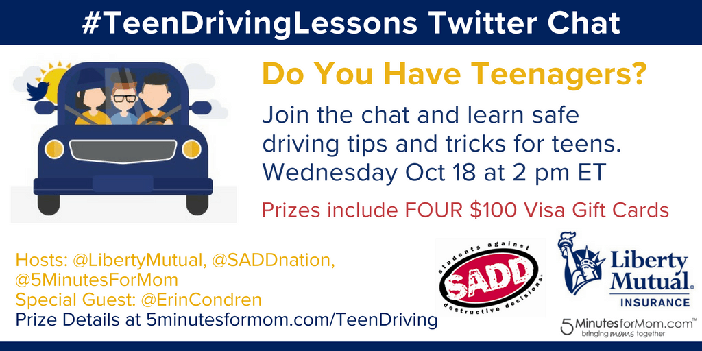 TeenDrivingLessons Twitter Chat