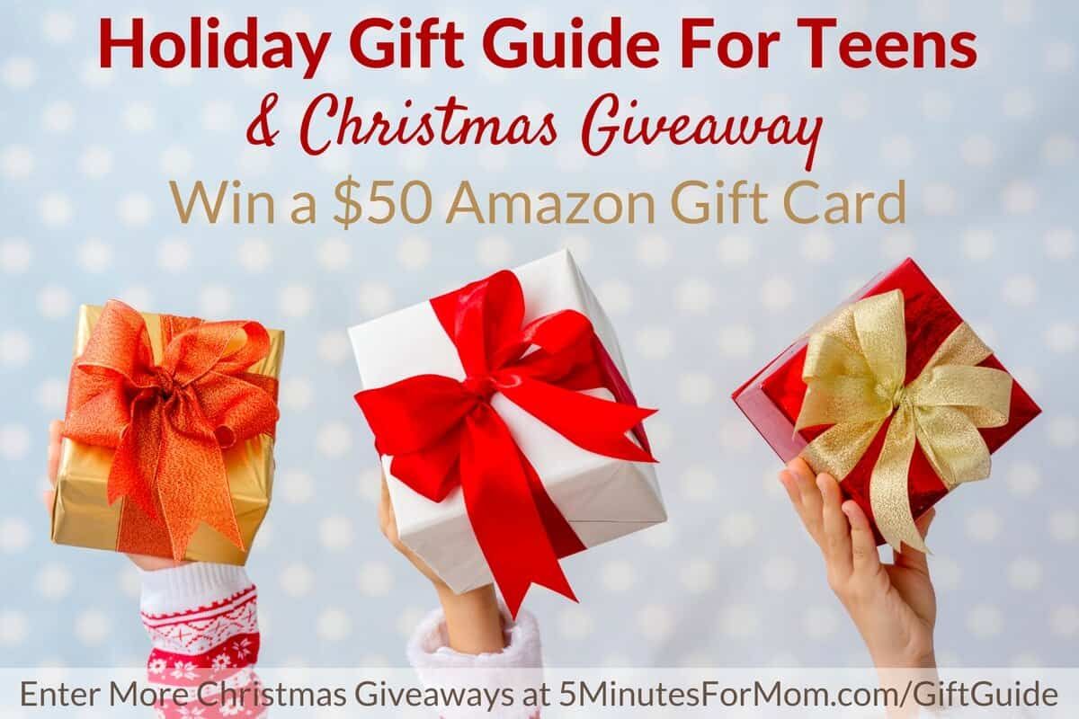 Christmas Giveaway - Holiday Gift Guide for Teens