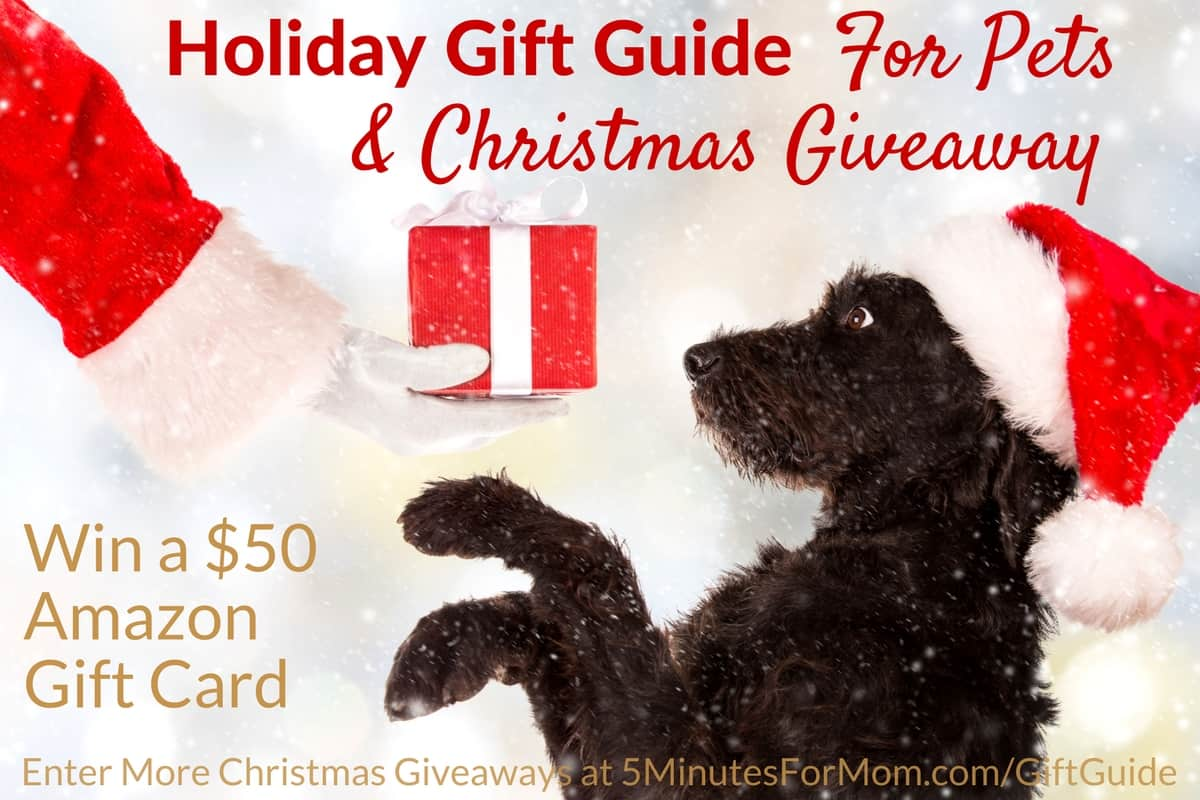 Christmas Giveaway and Holiday Gift Guide for Pets