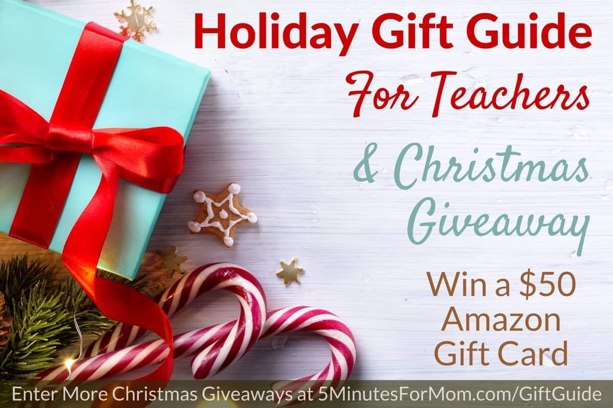 Christmas Giveaway and Holiday Gift Guide for Teachers