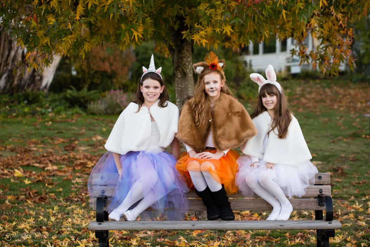 DIY Girls Halloween Costumes