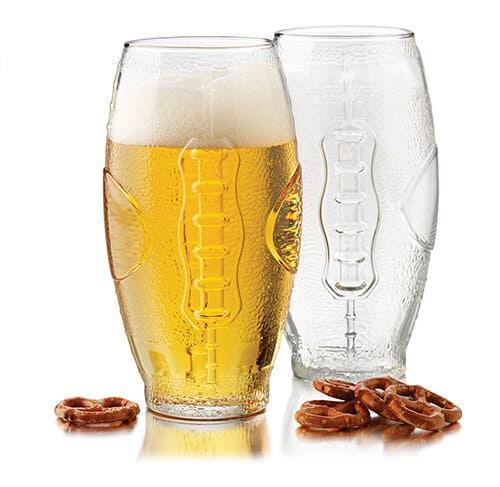 Gift Ideas for Men - Football Tumbler Beer Glass