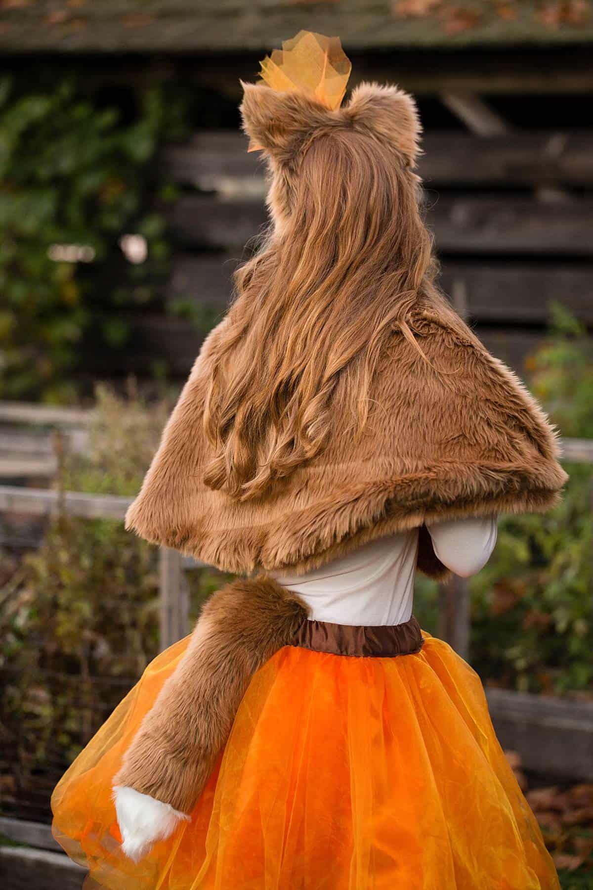 Girls Fox Halloween Costume_0003