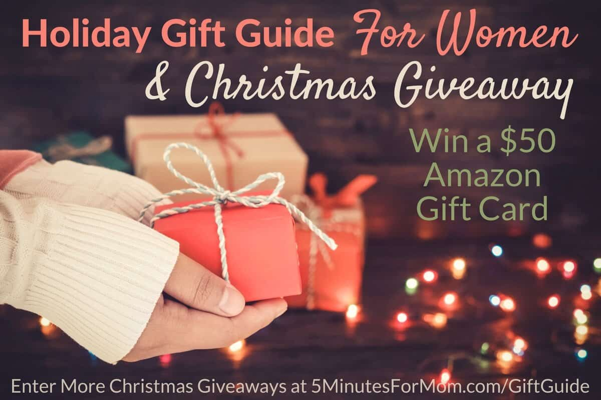 Holiday Gift Guide For Women and Christmas Giveaway