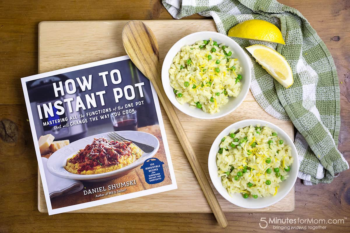 How to Instant Pot Risotto