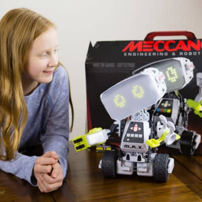 Meccano M.A.X. — An AI Robot for the Ultimate in STEM Fun and Learning