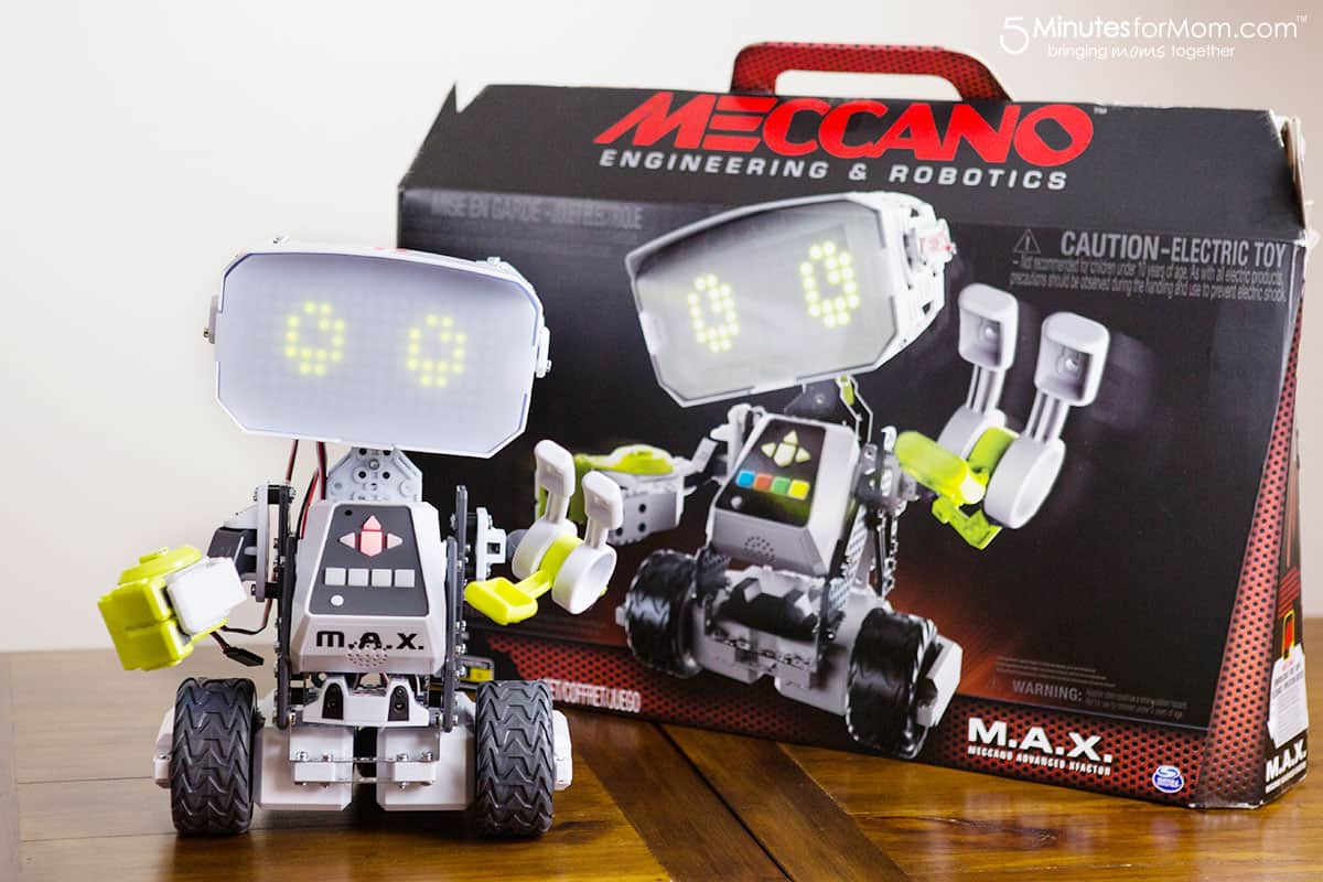 Meccano M.A.X. Robot