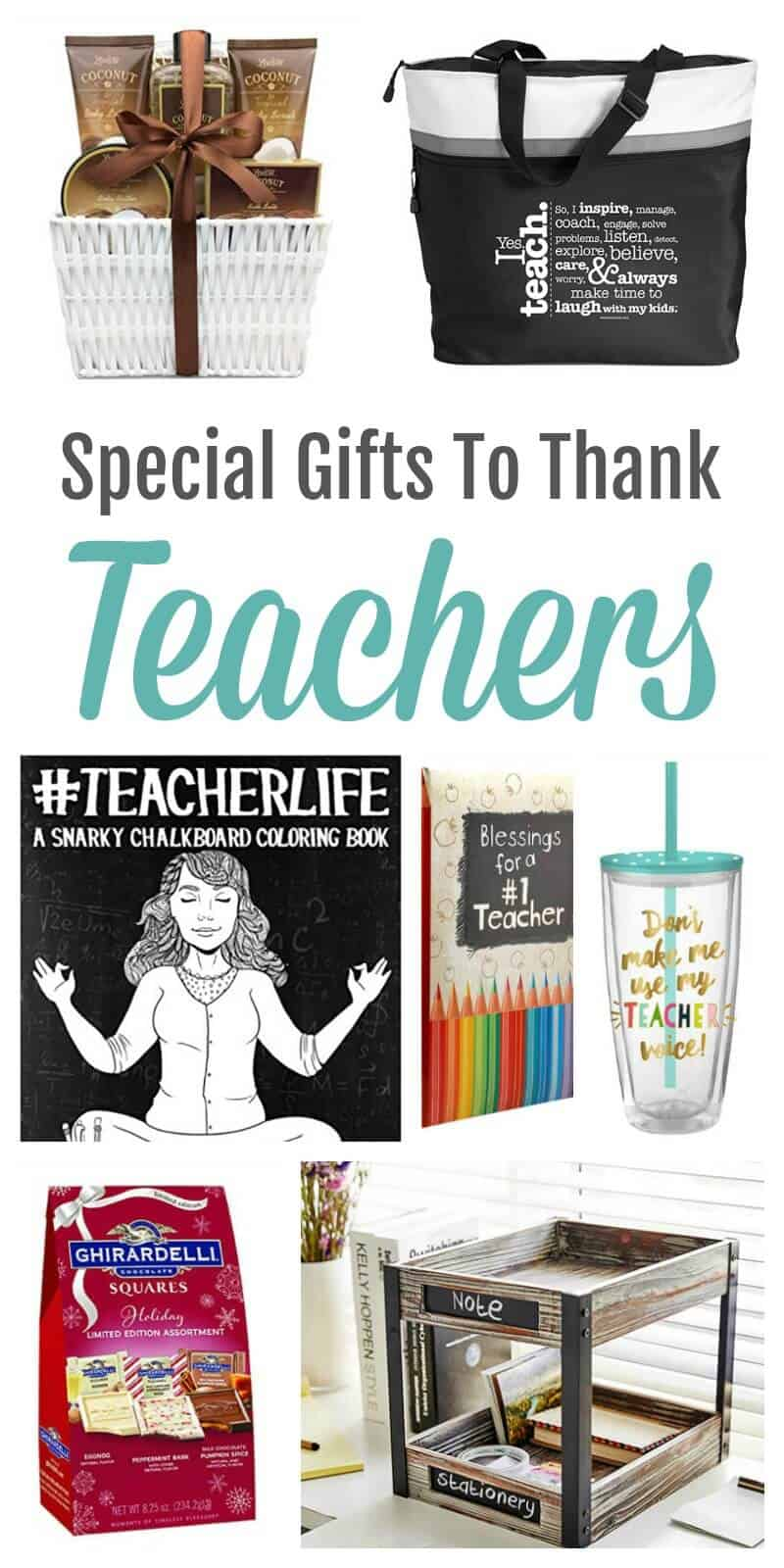 Special Gifts to Thank Teachers