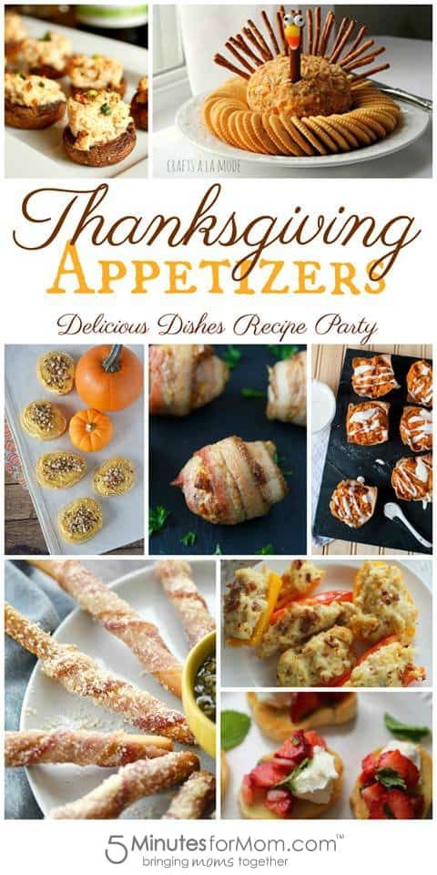 Thanksgiving Appetizers - Delicious Dishes Recipe Party