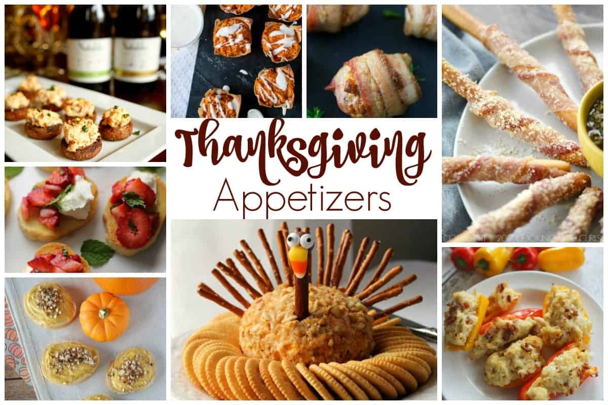 Thanksgiving Appetizers - Delicious Recipes