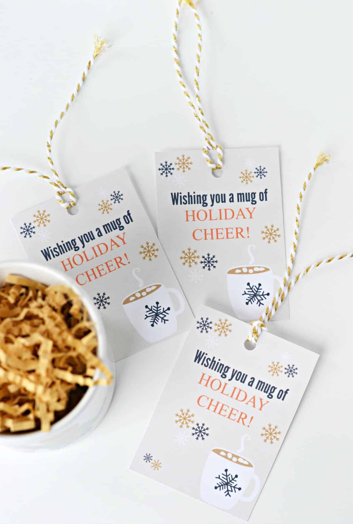 printable gift tags for mugs