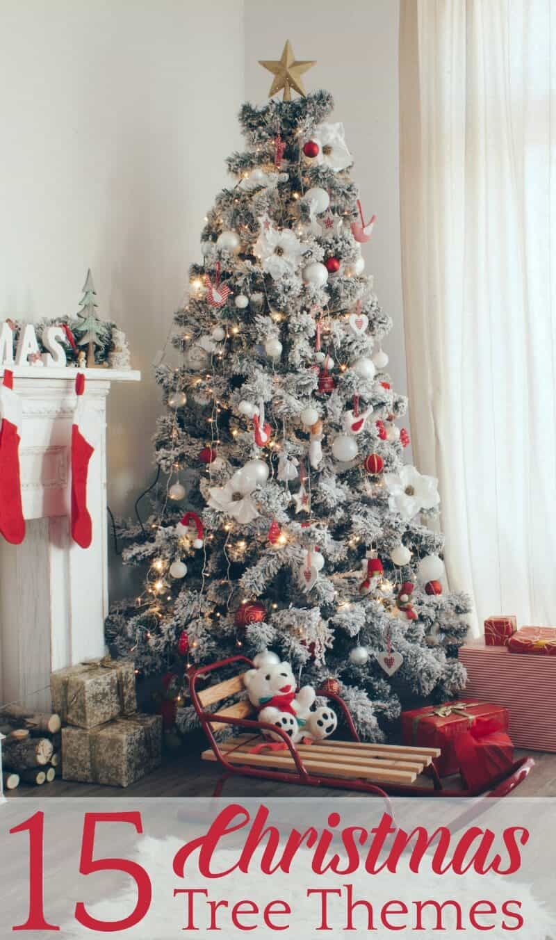 15 Fabulous Christmas Tree Themes 5 Minutes For Mom