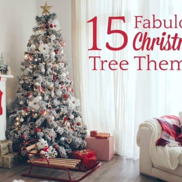 15 Fabulous Christmas Tree Themes