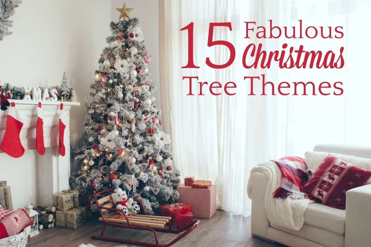 Christmas Tree Themes.15 Fabulous Christmas Tree Themes 5 Minutes For Mom