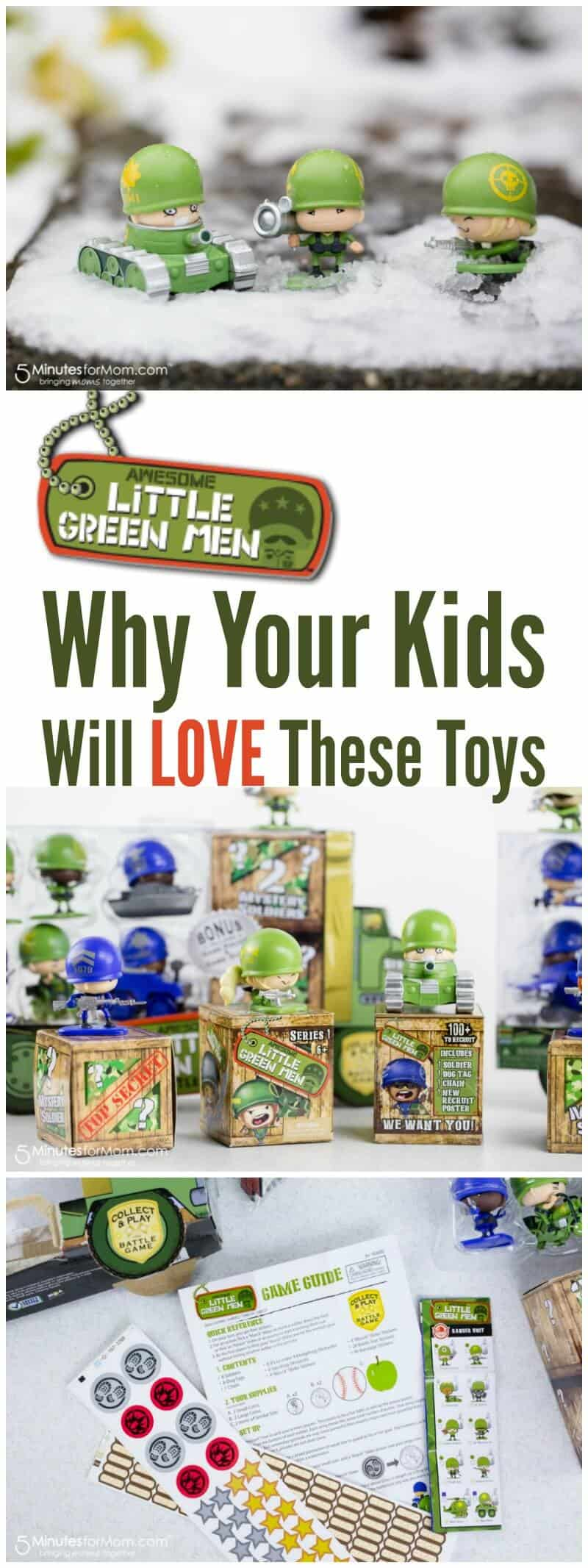 Awesome Little Green Men - Why Your Kids Will Love These Toys