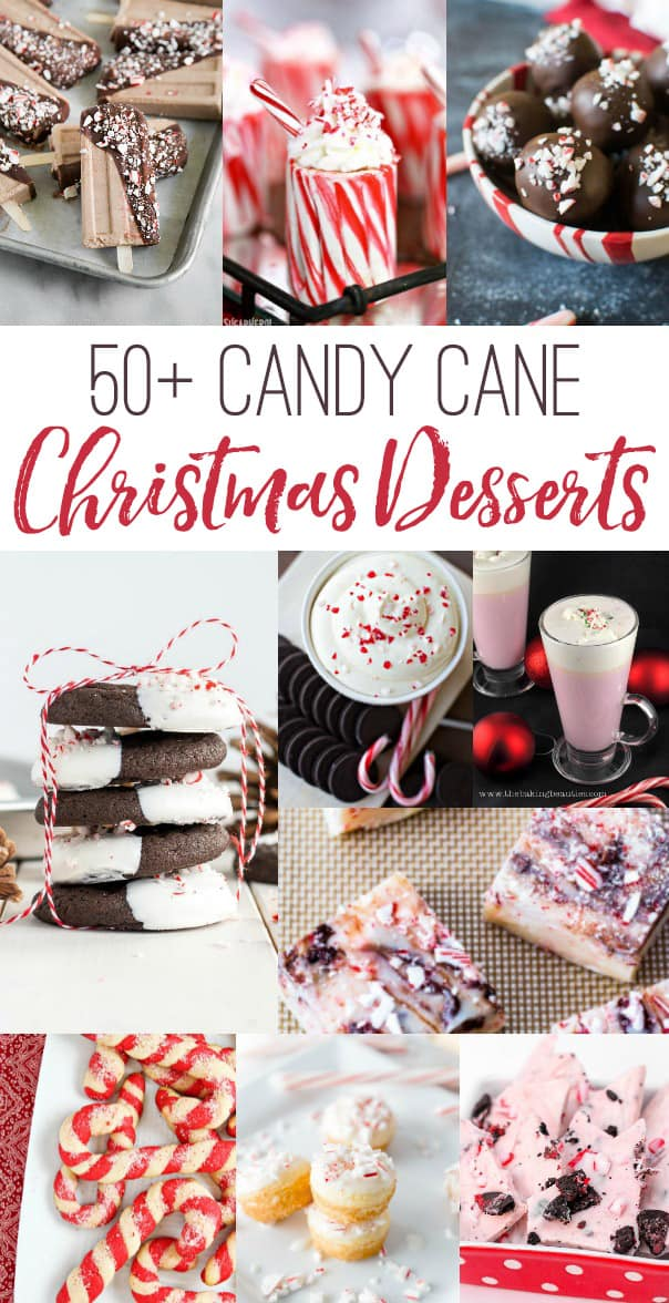 50 Candy Cane Christmas Desserts