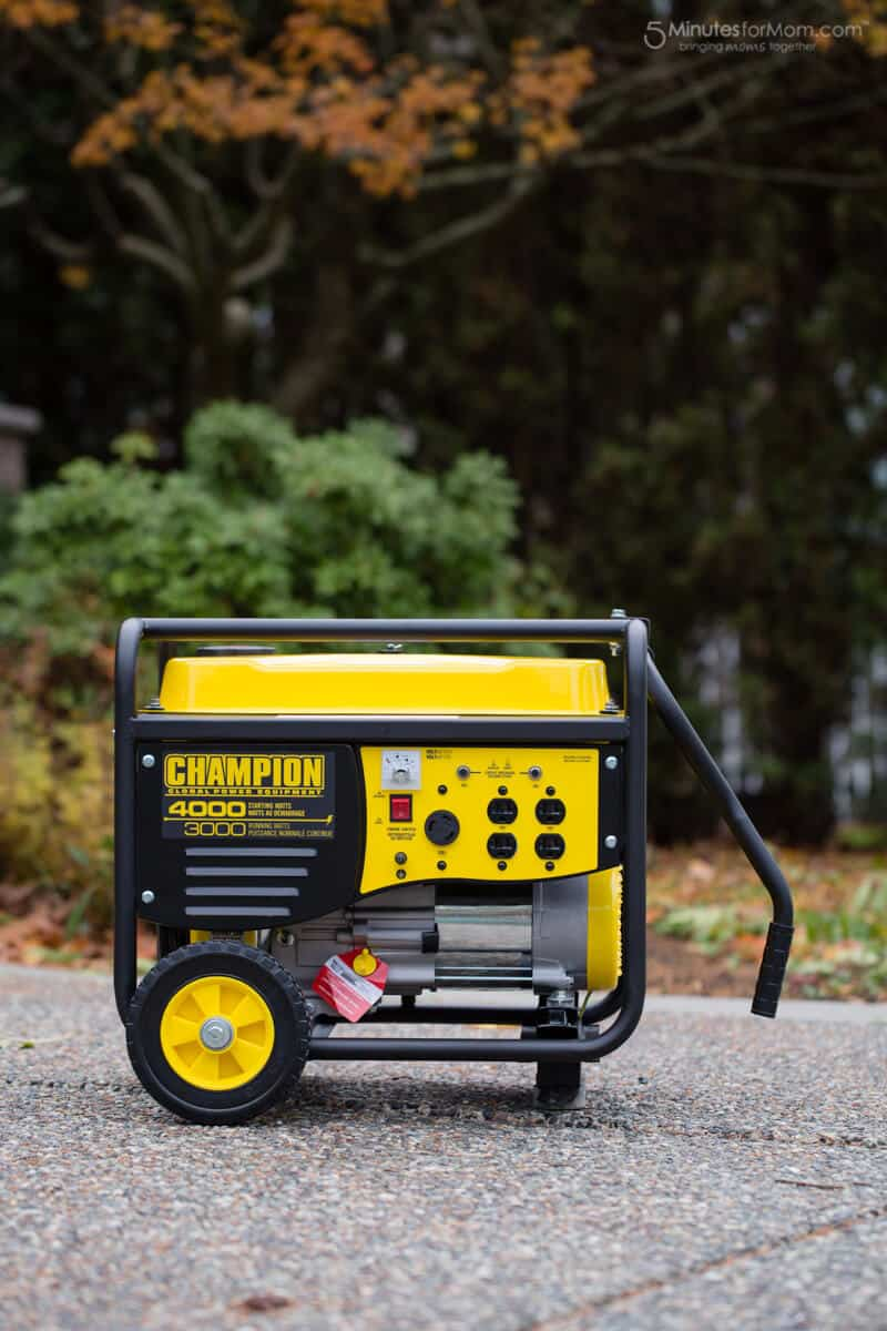 Champion Generator - For Backup Power During Outages