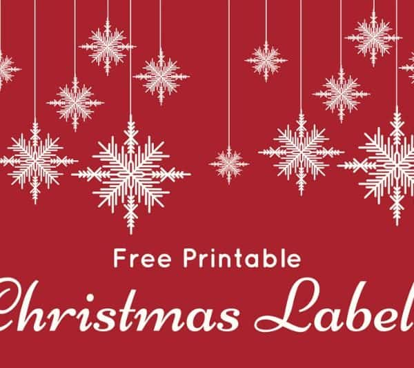 DIY Gift Tags – Fun and Colorful Christmas Labels – Free Printables
