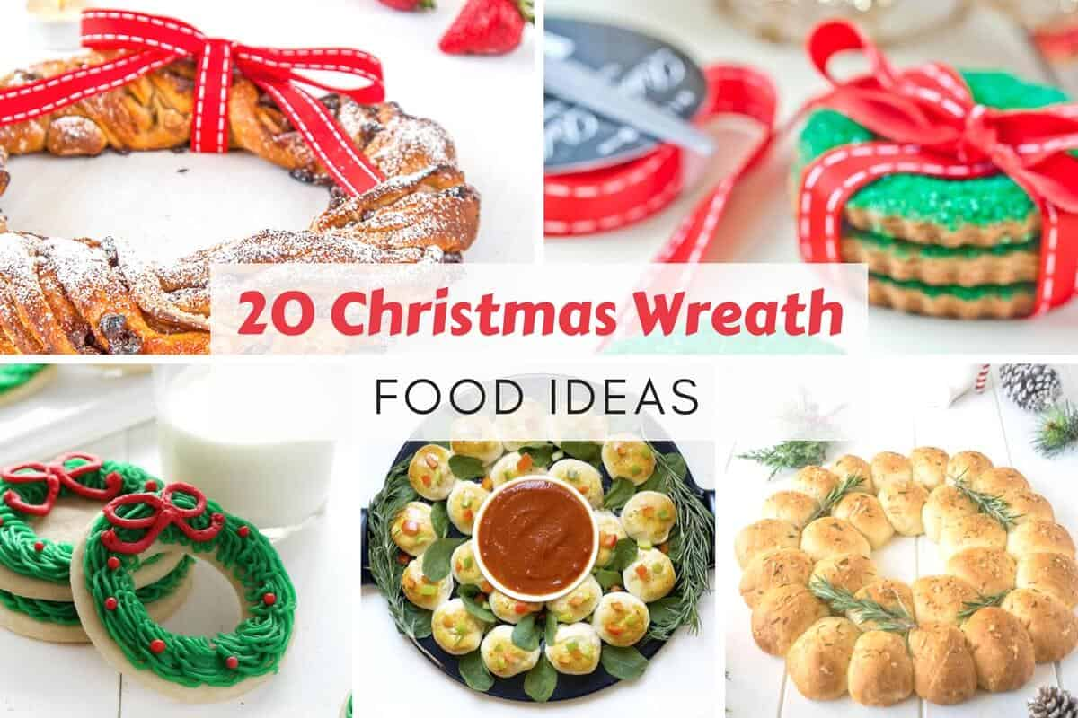 christmas wreath food ideas
