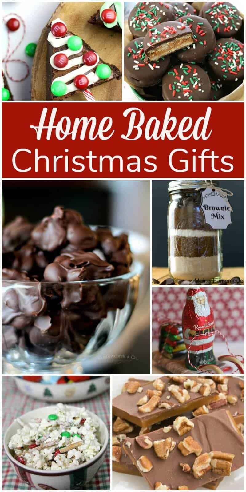 Home Baked Christmas Treats and are perfect for Christmas Gifts