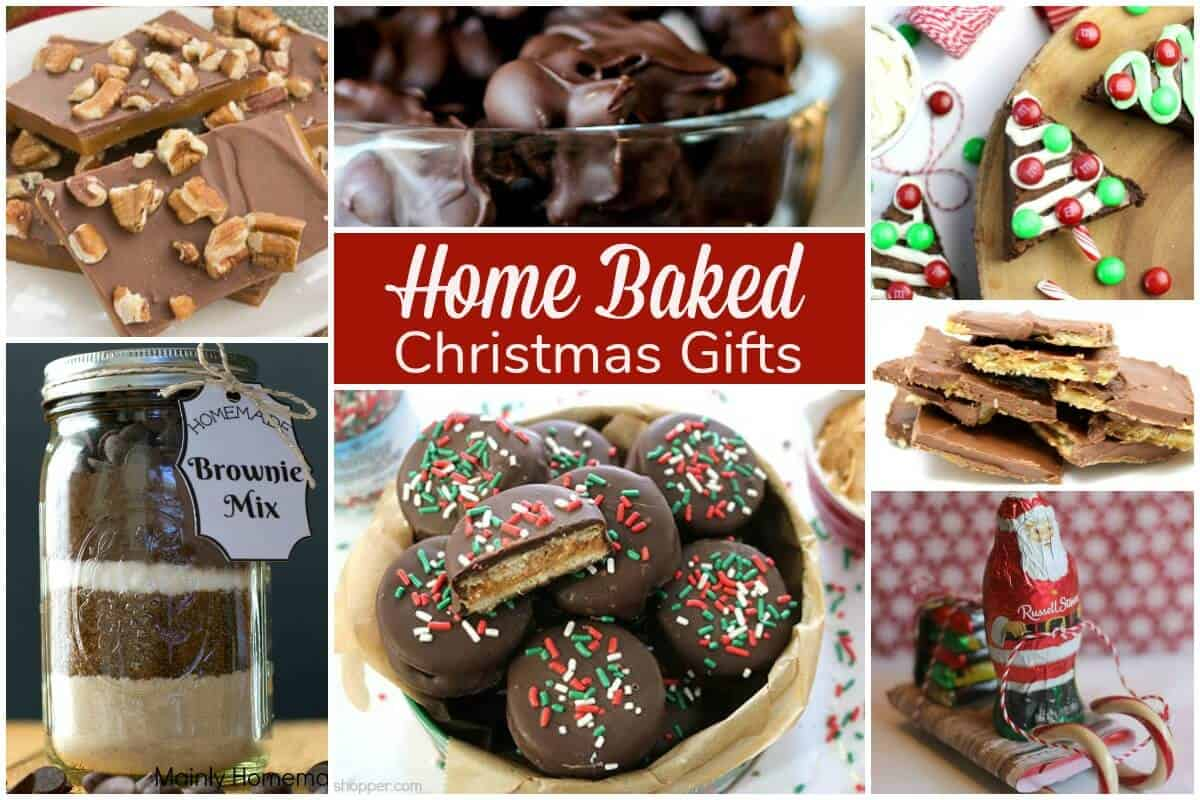 Home baked gifts for christmas