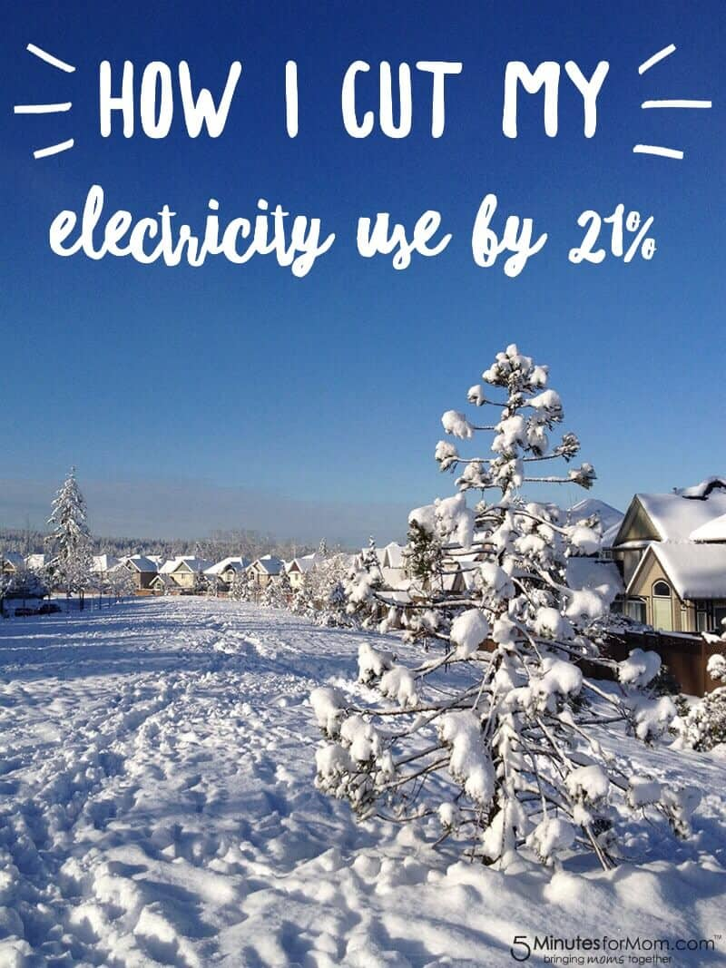 How I Cut My Electricity Use by 21 percent