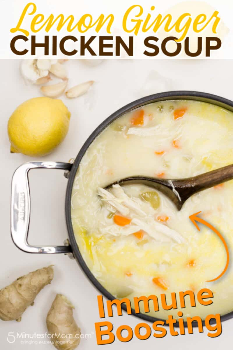 Lemon Ginger Chicken Soup Recipe